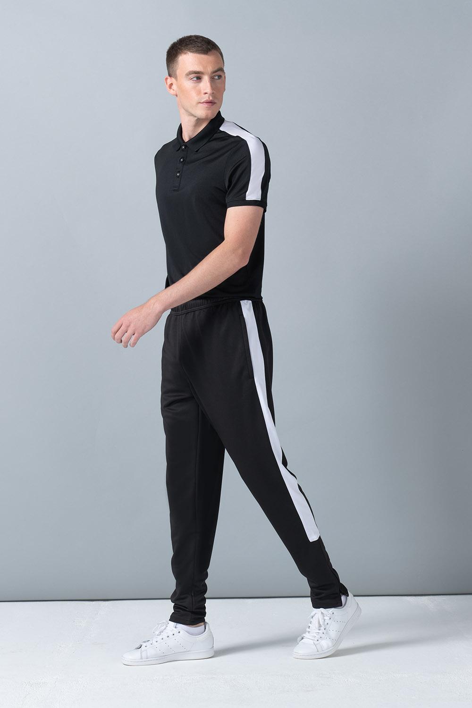 Finden And Hales Contrast Track Pants Men Sport Tracksuit Elasticated Waist Pant
